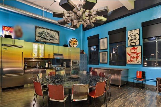 Johhny-Depp-house-entertainment-space