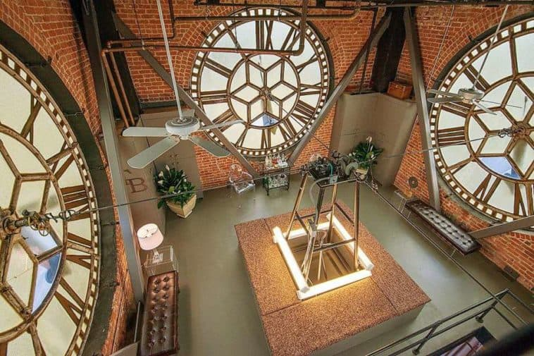 This 4-Floor Penthouse Atop San Francisco's ClockTower Asks $6.3 Million, Comes With the Actual Clock