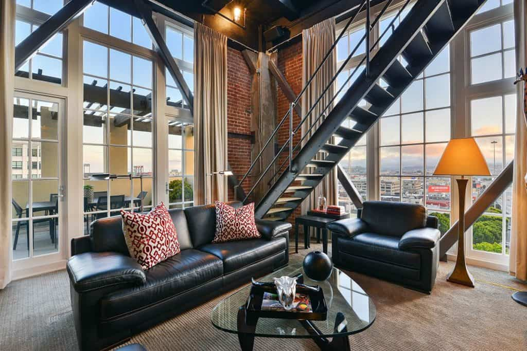 clock-penthouse-461-2nd-street-san-francisco-living-space2