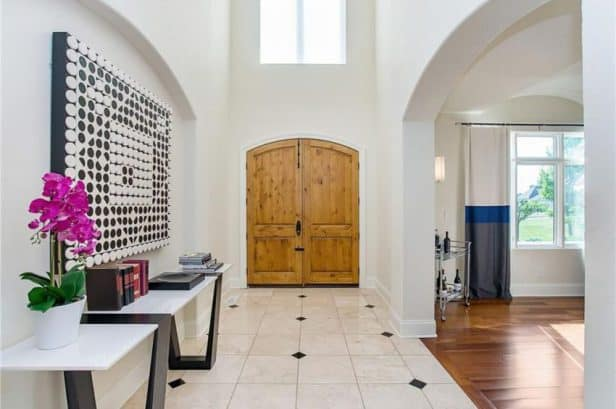 french-chateau-carmel-in-entrance