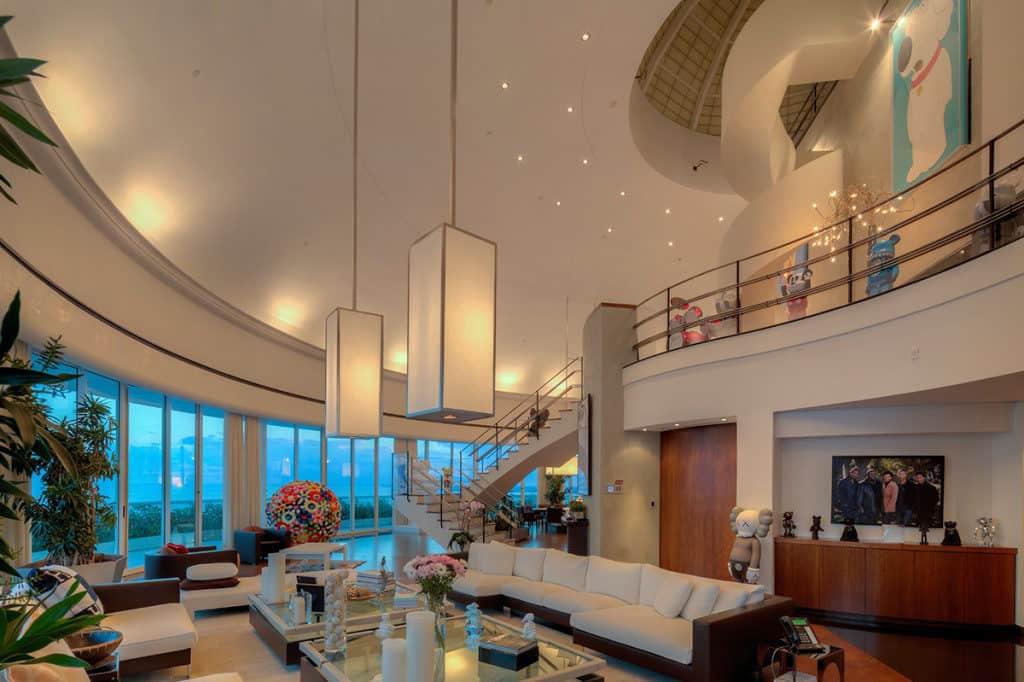 pharell-williams-brickell-condo-living-room