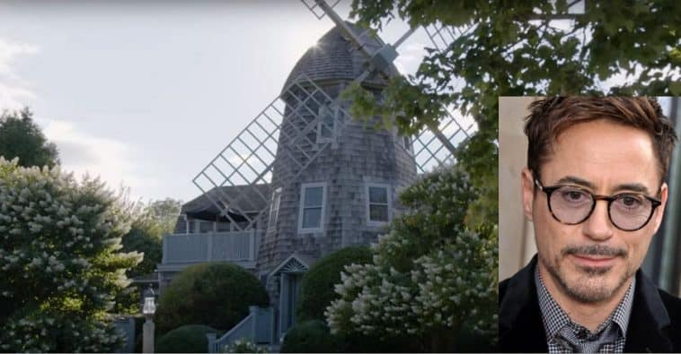 Robert Downey Jr Lives In This Charming Windmill House In The Hamptons