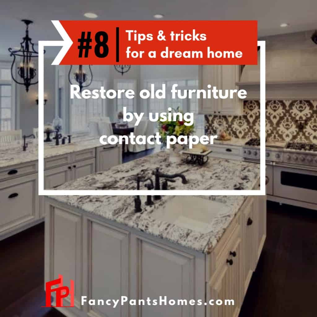 home decor hack use contact paper to restore furniturehome decor hack use contact paper to restore furniture
