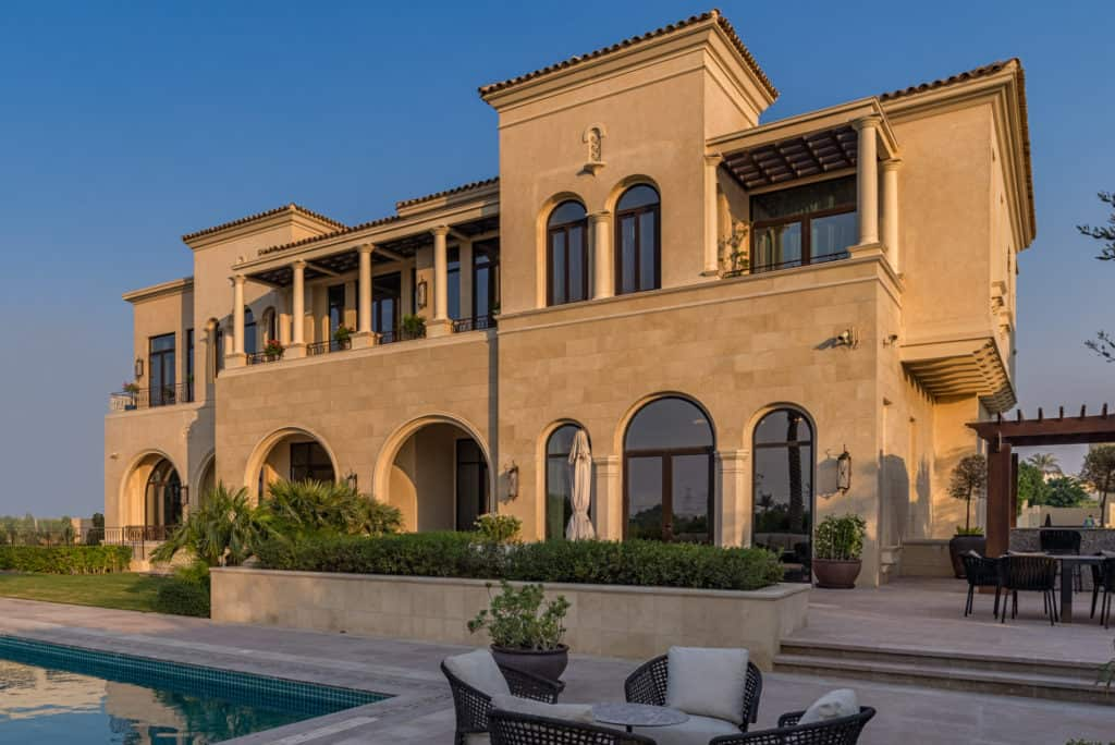 Six-bedroom Mediterranean Villa in Dubai Hills Estate exterior