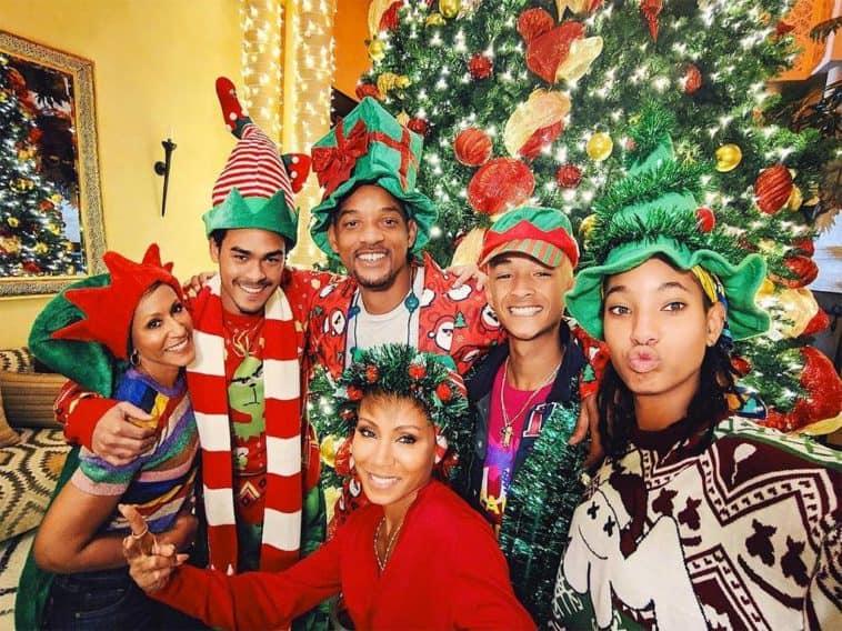 how celebrities decorated for christmas