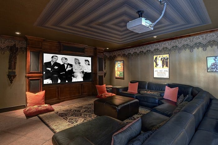 Bing Crosby House MEDIA ROOM