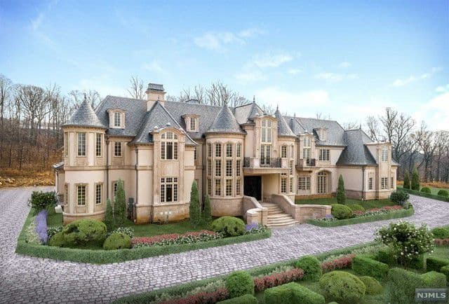 Ilya Kovalchuk french chateau in alpine, new jersey