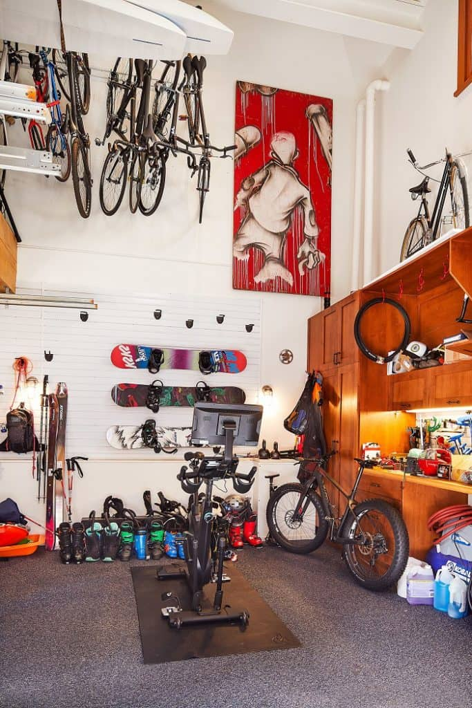 lance armstrong's house garage