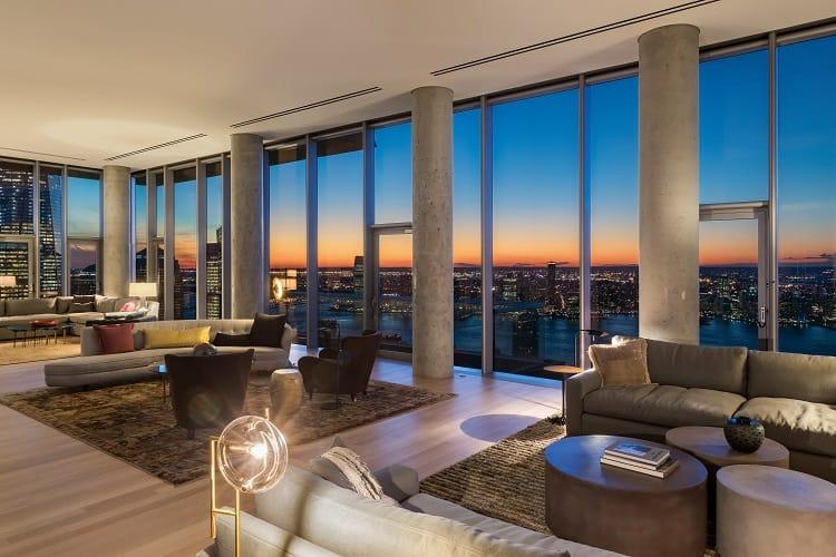 56 leonard penthouse floor 53 living room