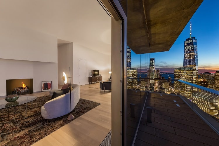 56 leonard penthouse views