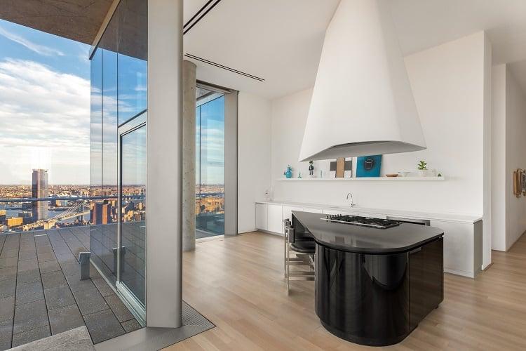 56 leonard penthouse floor 53 unique kitchen