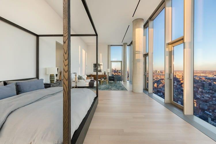 56 leonard penthouse floor 53 bedroom and city views