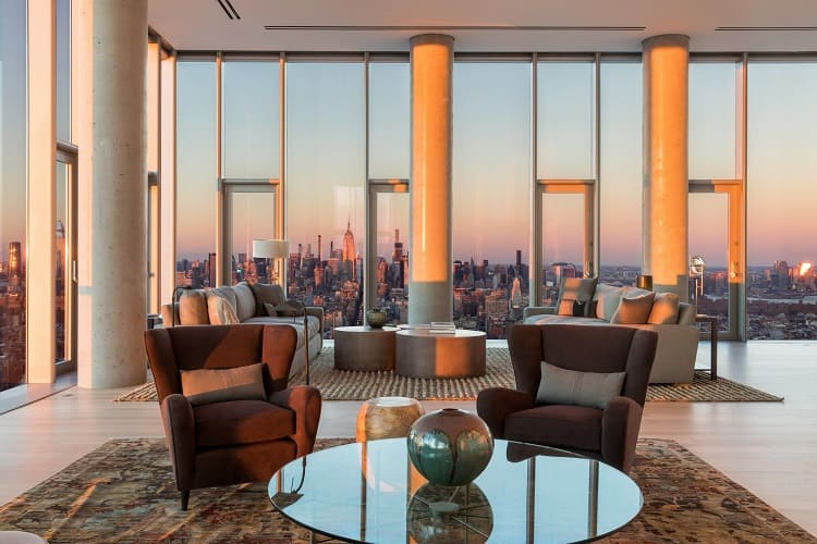 56 leonard street penthouse interior