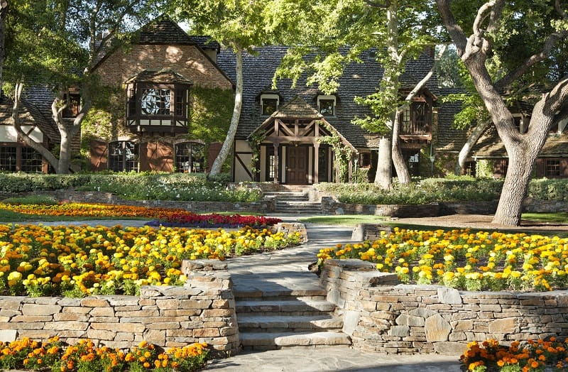 Sycamore Valley Ranch main house, formerly Michael Jackson's Neverland Ranch