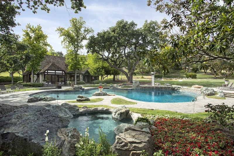 neverland ranch now sycamore valley ranch pool area