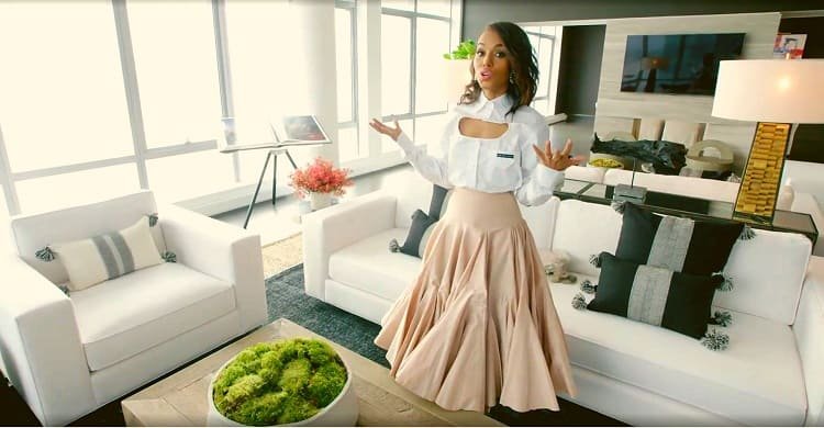 Kerry washington home in NYC interiors