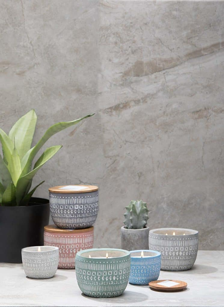 ceramic candles great for home decor
