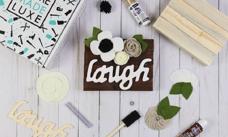 crafts and diy subscription box for pinterest fans