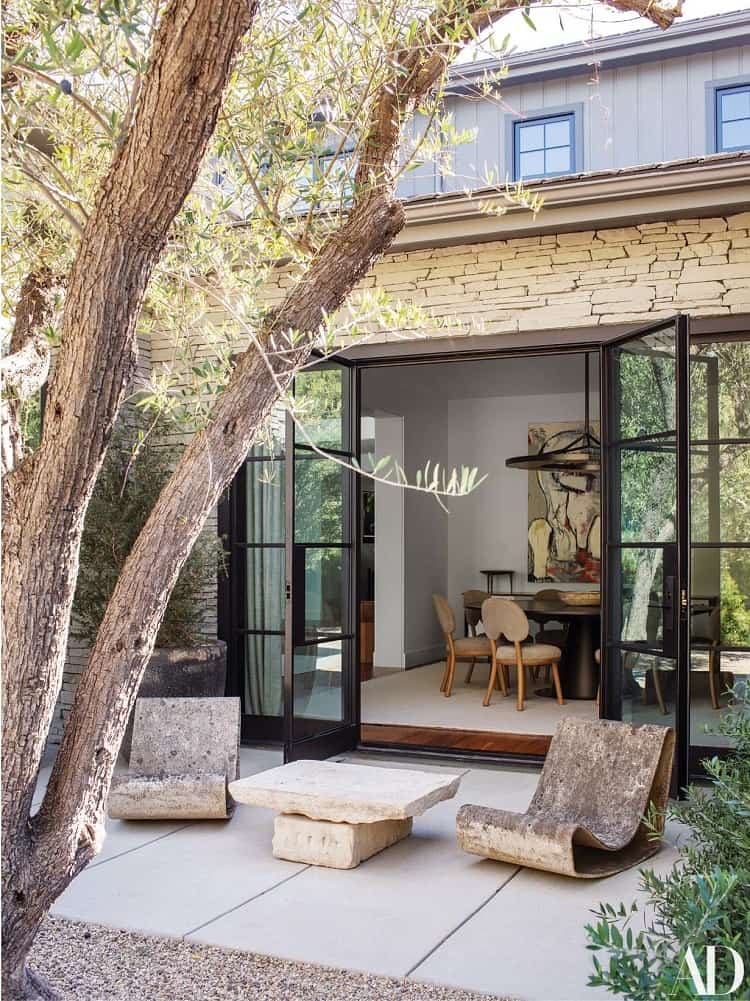 kris jenner beautiful house in the hidden hills