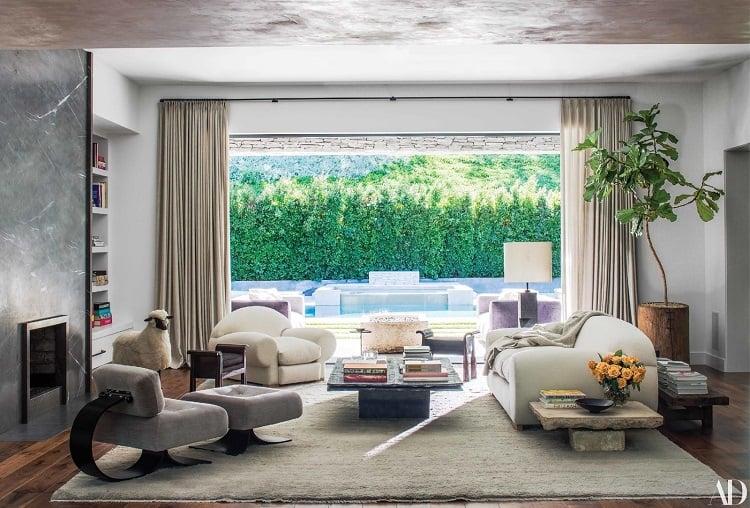 Inside Kris Jenner's house in Hidden Hills