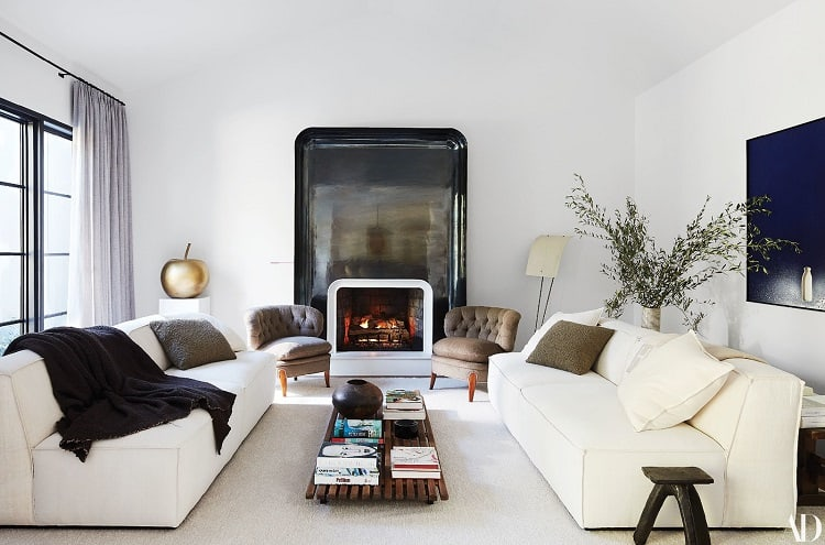 Inside Kris Jenner's house in Hidden Hills. Photo: William Abranowicz for Architectural Digest