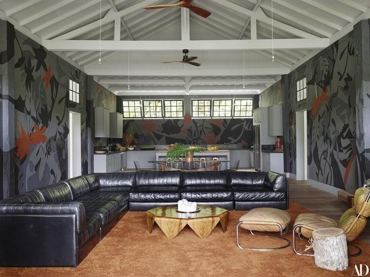 lenny kravitz's house interiors in brazil