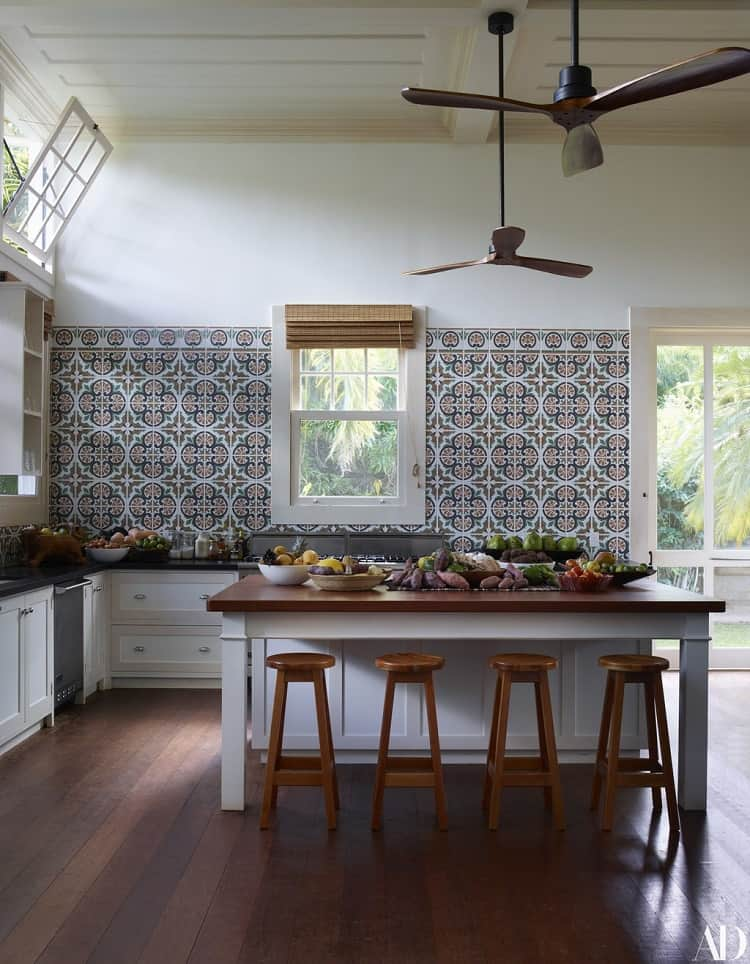 lenny kravitz's house interiors in brazil: kitchen
