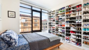 clinton hill condo for sale with sneakers collection