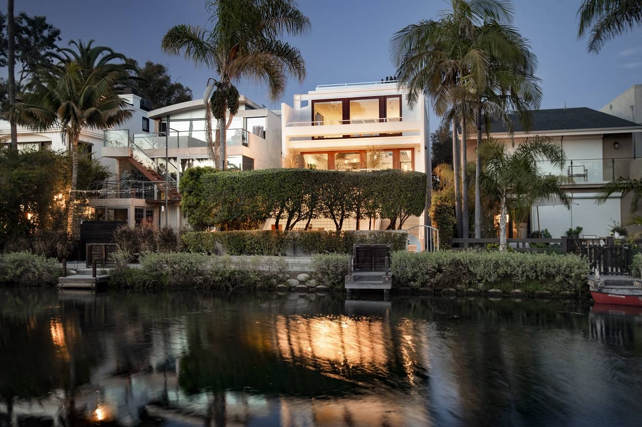 george harrison son lists venice canal home