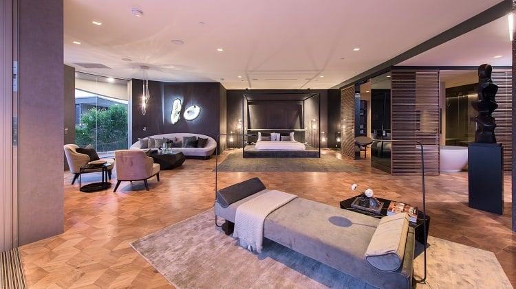travis scott house bedroom