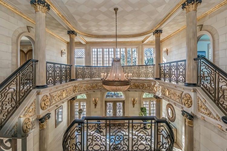Inside the opulent Gloria Crest Estate in New Jersey