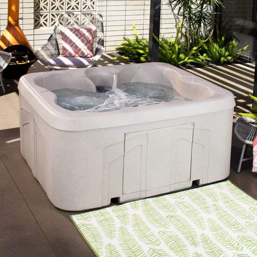 affordable hot tub on amazon that fits 4 people
