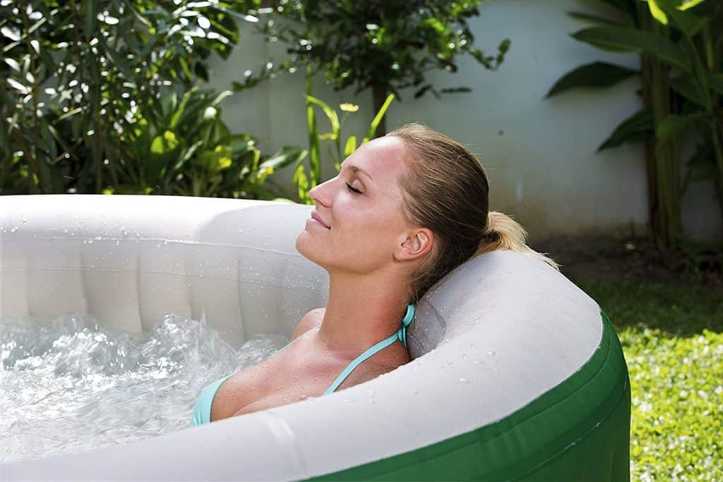 affordable hot tubs Coleman Inflatable Hot Tub