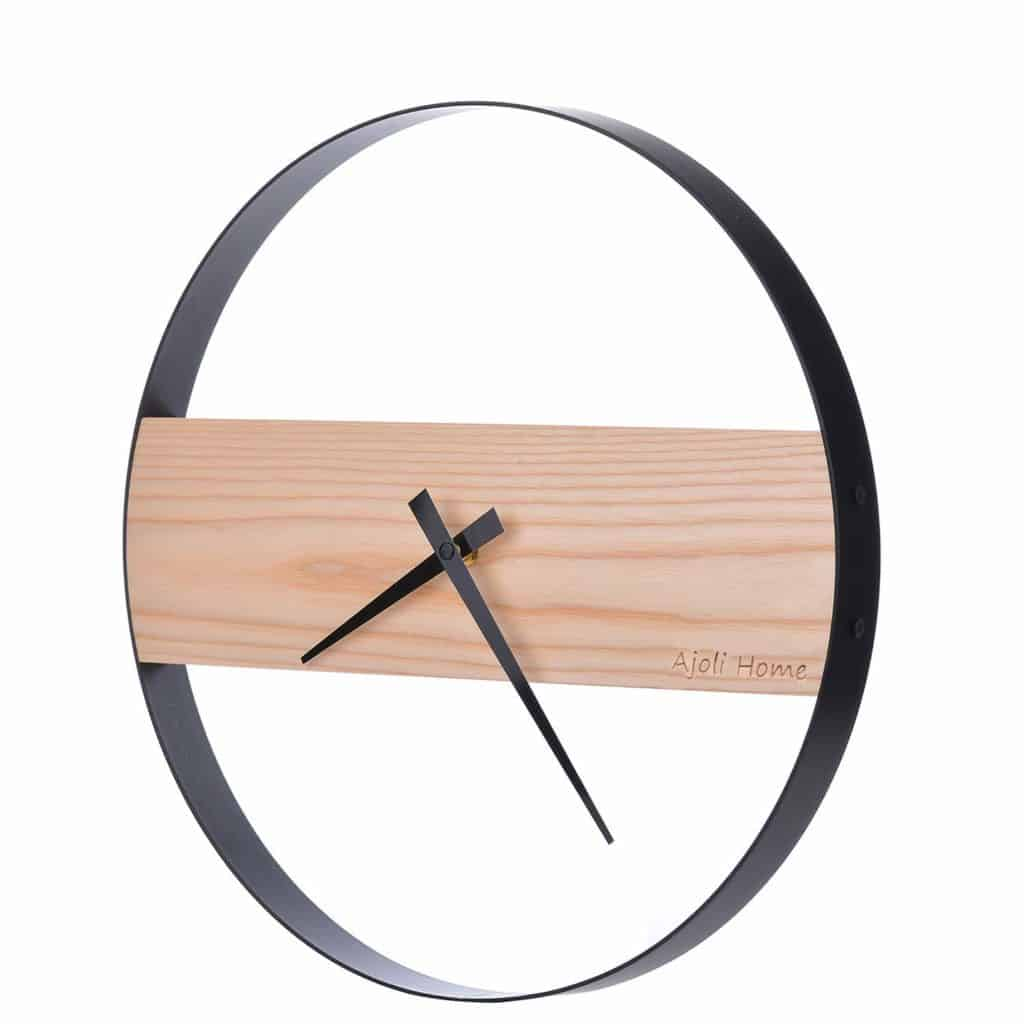 AjoliHome minimalist decor wall clock