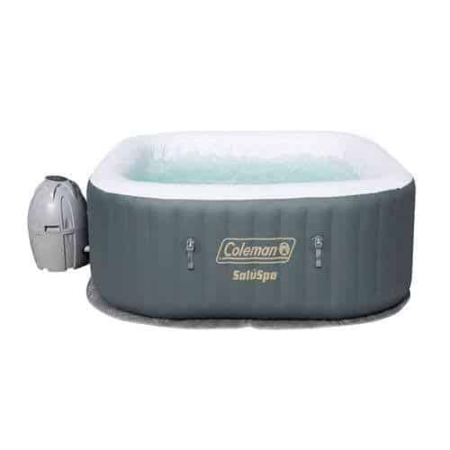 coleman's newest inflatable hot tub on amazon