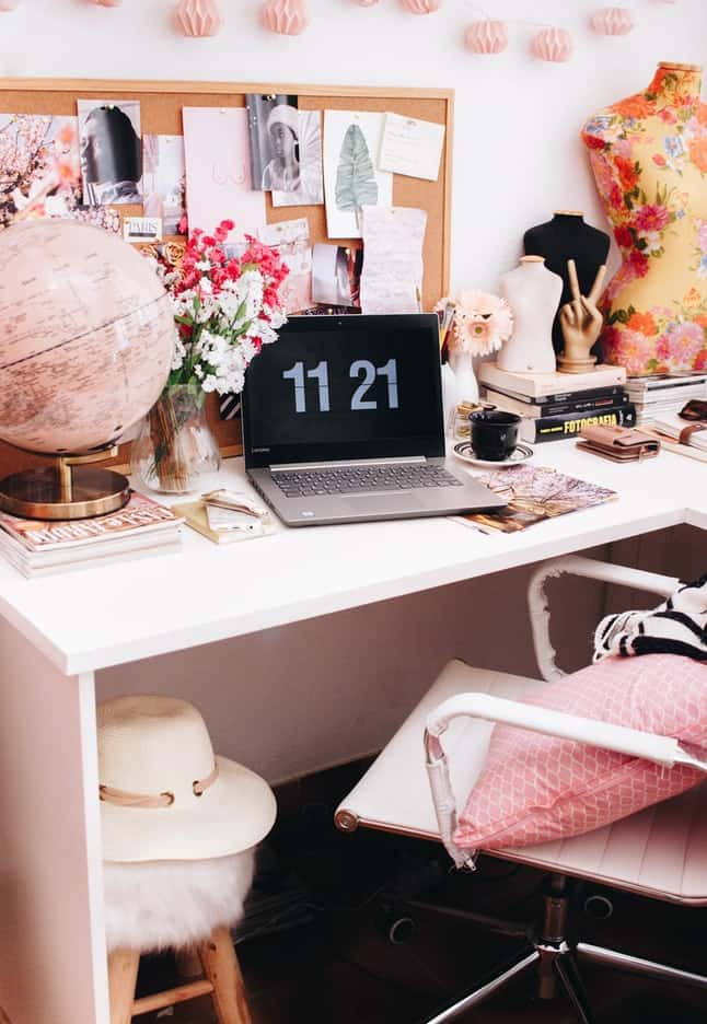 home decor office space
