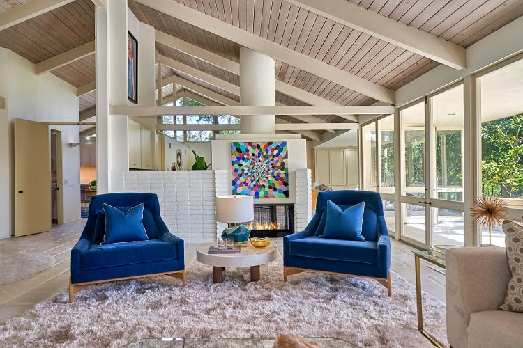 1610 lindamere place los angeles interiors