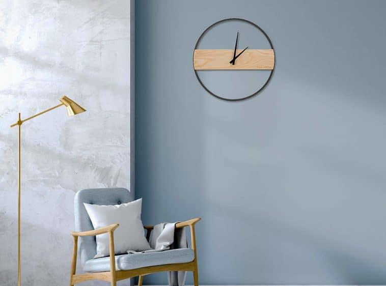 minimalist decor wall clock