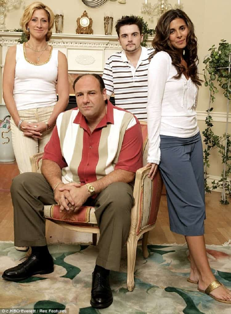the sopranos family photo at home