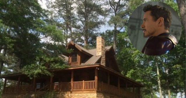 tony stark cabin in avengers endgame