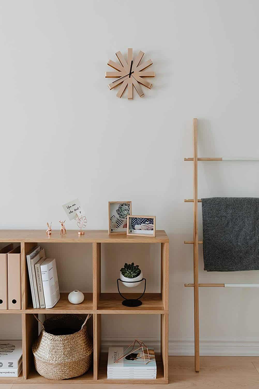 umbra wall clock in copper amazon
