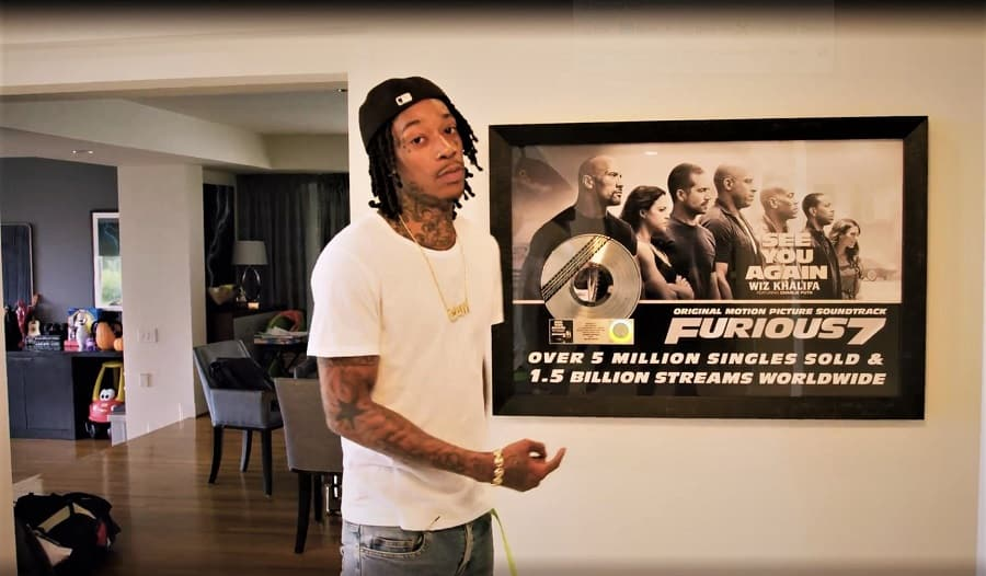 wiz khalifa house fast and furious fan