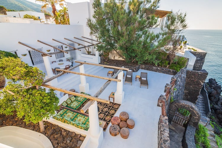 dolce & gabbana house on the stromboli island in sicily