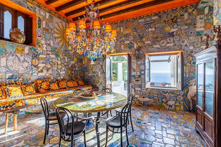 dolce & gabbana house on the stromboli island in sicily
