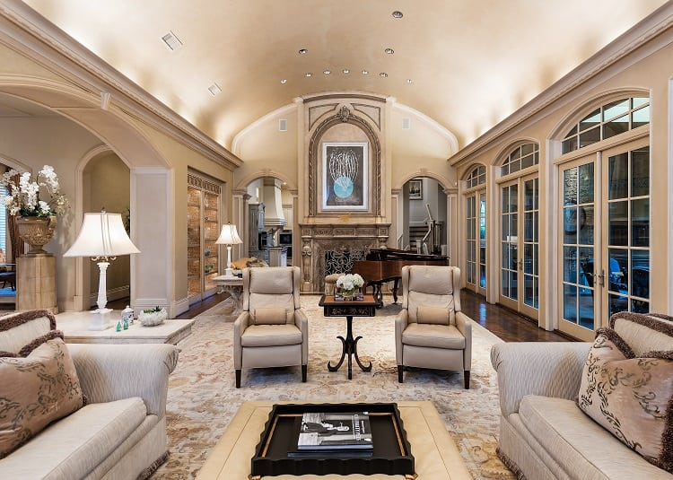 French Chateau-Inspired Mansion in Dallas Preston Hollow