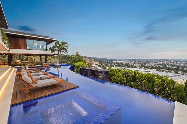 8408 Hillside Avenue mansion from Selling Sunset