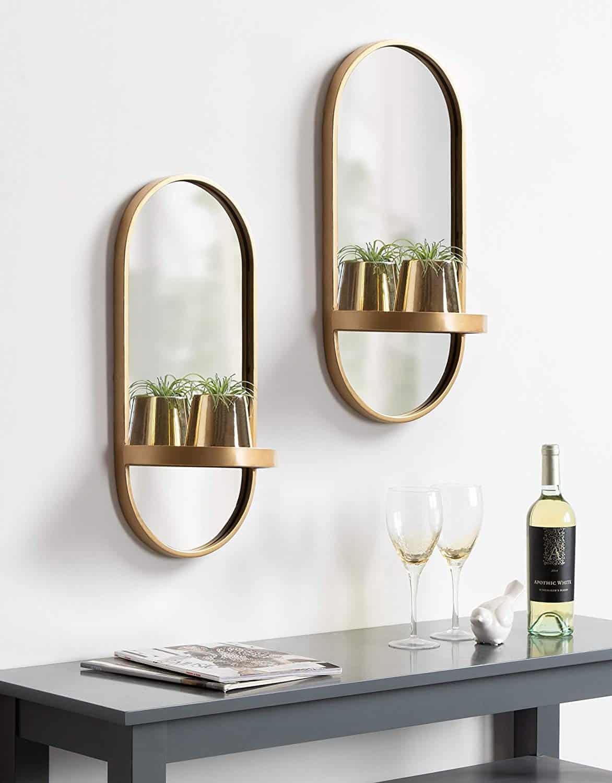 beautiful metal wall mirrors on amazon