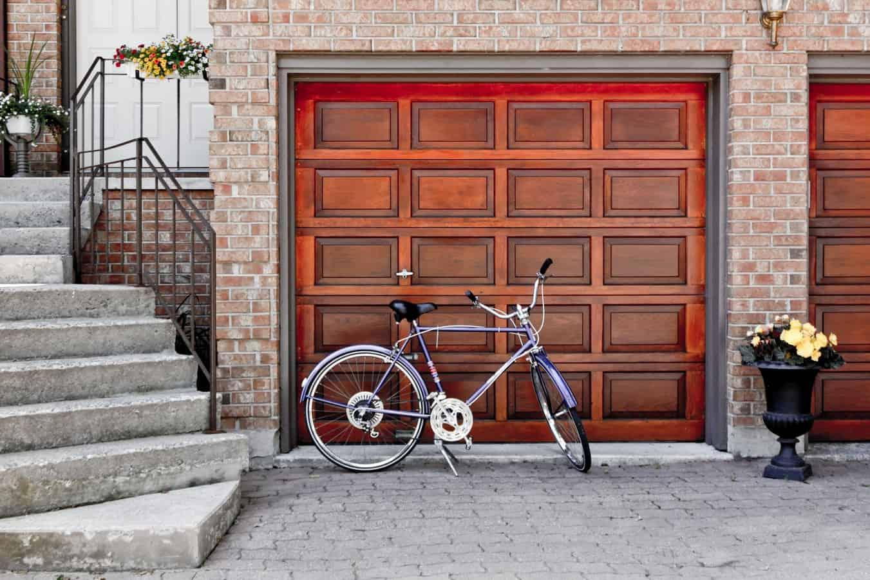 beautiful garage door wood