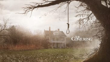 the haunted house in the conjuring movie