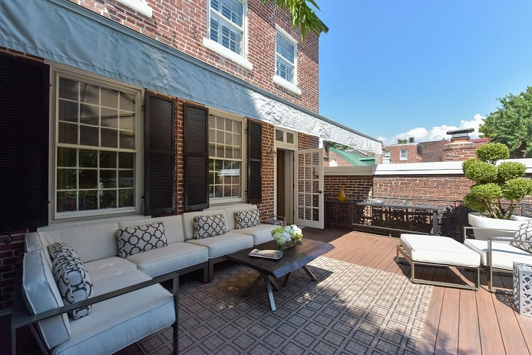 townhome for sale 116 Prince St Alexandria VA